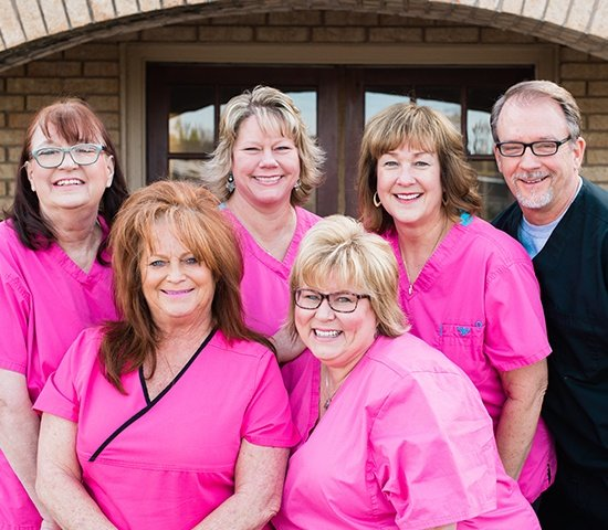 Dr. Swearingen's Oklahoma City dental team