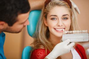 patient teeth whitening